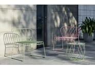 Steel garden armchair RESÖ   Garden armchair - Skargaarden