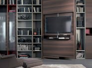 Adjustable retractable TV cabinet REVO-OVER - Fimar