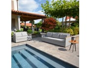 2 seater textilene garden sofa RIO | 2 seater sofa - FISCHER MÖBEL