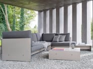 Corner sectional upholstered sofa RIVA COMBINATION E - conmoto by Lions at Work