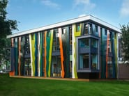 ROCKPANEL Brilliant applied on School extension