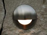 LED wall-mounted outdoor aluminium steplight SMILE | Wall-mounted steplight - Brillamenti by Hi Project