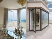 Finestra a bilico in alluminio e legno sa91 finestra a for Finestra bilico