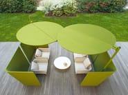 Garden armchair with armrests SABI | Armchair - Paola Lenti