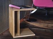 Tavolino di servizio rettangolare in legno SC15   Tavolino in legno - Janua