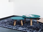Tavolino rotondo in HPL SC51 | Tavolino in HPL - Janua