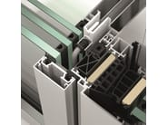Glass and aluminium Continuous facade system Schüco FWS 50 - SCHÜCO INTERNATIONAL ITALIA