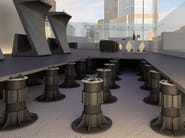 Modular system for raised flooring SE - SILENT - ETERNO IVICA