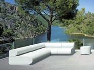 Sectional modular coated foam sofa BOO | Modular sofa - Stratta
