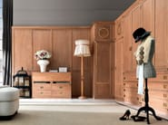 Corner sectional wooden wardrobe Sectional wardrobe - Caroti