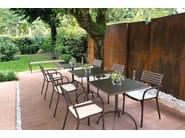 Folding square table SEGNO - EMU Group