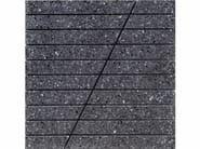 Marble grit mosaic SEGNOBLIQUO - Mipa