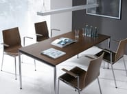 Stackable training chair with armrests SENSI K1H - profim