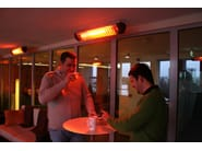 Infrared outdoor heater SHARKLITE - Mo-el