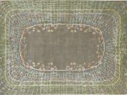 Handmade rectangular rug SHELL PATINA - Deirdre Dyson