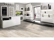 Flooring with wood effect SHERWOOD CANVAS - CERAMICHE BRENNERO