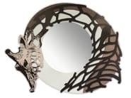 Specchio rotondo a parete con cornice SI-223-SP | Specchio - L.A.S.