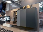 Freestanding TV wall system SIDE 14 - Fimar