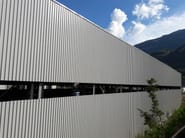 Metal sheet and panel for roof SILMA 6 - CENTROMETAL