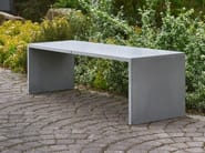 Concrete bench for public spaces SIMPLY - Gravelli