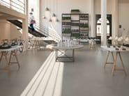 Porcelain stoneware flooring with concrete effect SISTEM P - MARAZZI