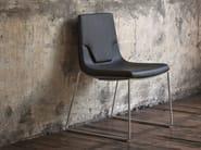 Sled base chair ELLE 48 | Sled base chair - Emmegi