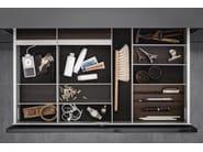 Aluminium and wood Drawer insert Sliding drawer system - SieMatic