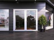 Porta-finestra in vetro con triplo vetro SMART GLASS - Interno Doors