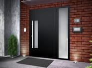 Porta d'ingresso blindata in legno SMART G - Interno Doors