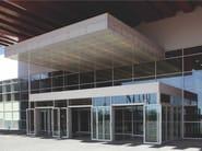 Continuous facade system SMARTIA M50 - Alumil