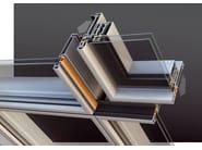 Continuous facade system SMARTIA M65 - Alumil