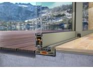 Porta-finestra scorrevole SMARTIA S440 - Alumil