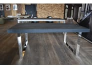 Rectangular wooden dining table SOBRE - CABUY D.