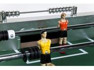 Rectangular MDF football table SOCCER BOYS SILVER/COULURED - KARE-DESIGN