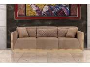 Upholstered 3 seater leather sofa TRAFALGAR | Sofa - Formitalia Group