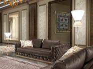 Tufted upholstered 3 seater leather sofa ELISA | Sofa - Formitalia Group