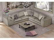 Corner sectional upholstered velvet sofa VERONA | Sofa - Formitalia Group
