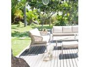 Divano da giardino in fibra sintetica per contract JOURNEY 23094 - SKYLINE design