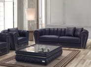 Upholstered 3 seater leather sofa RITA | Sofa - Tonino Lamborghini Casa by Formitalia Group