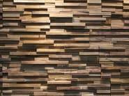 Reclaimed wood 3D Wall Tile SONOKELING - Teakyourwall