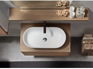 Oak bathroom cabinet / vanity unit SOUL - COMPOSITION 01 - Arcom