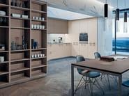 Lacquered laminate kitchen SPACE HANDLE - GD Arredamenti