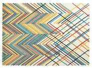 Handmade striped wool rug SPIKE - Toulemonde Bochart