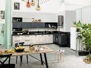 Wooden kitchen with handles SPRING URBAN | Kitchen with handles - DIBIESSE