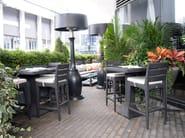 Tavolo da giardino da pranzo quadrato PANAMERA | Tavolo quadrato - 7OCEANS DESIGNS