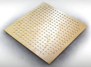 Wooden decorative acoustical panels SQUARE TILE PRO - Vicoustic by Exhibo
