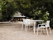 Stackable Batyline® garden chair with armrests STACK | Chair with armrests - GANDIA BLASCO