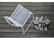 Sled base stackable garden armchair LIDO | Stackable garden armchair - FIAM