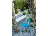 Sedia da giardino impilabile in acciaio STAR | Sedia - EMU Group S.p.A.