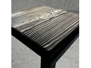 Square steel side table STEEL FRAME   Side table - Baltic Promo